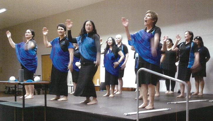 Noho Pakari Tū Kaha (Sit and Stand Strong) Wairau staff