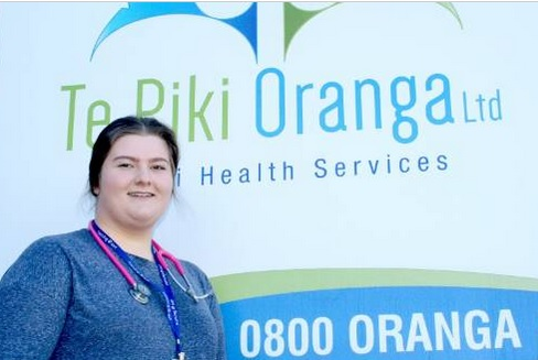 Te Piki Oranga nurse Rosie Mackie was inspired to work in the Māori health sector after witnessing casual racism first hand.
