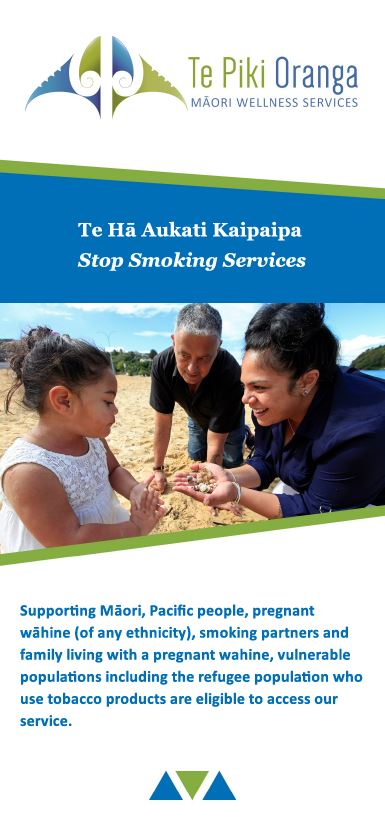 Te Ha / Stop Smoking Brochure