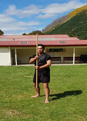 Tuku Reihana was a participant of Māori Tikanga Wānanga and has recently been made a tutor and leader.