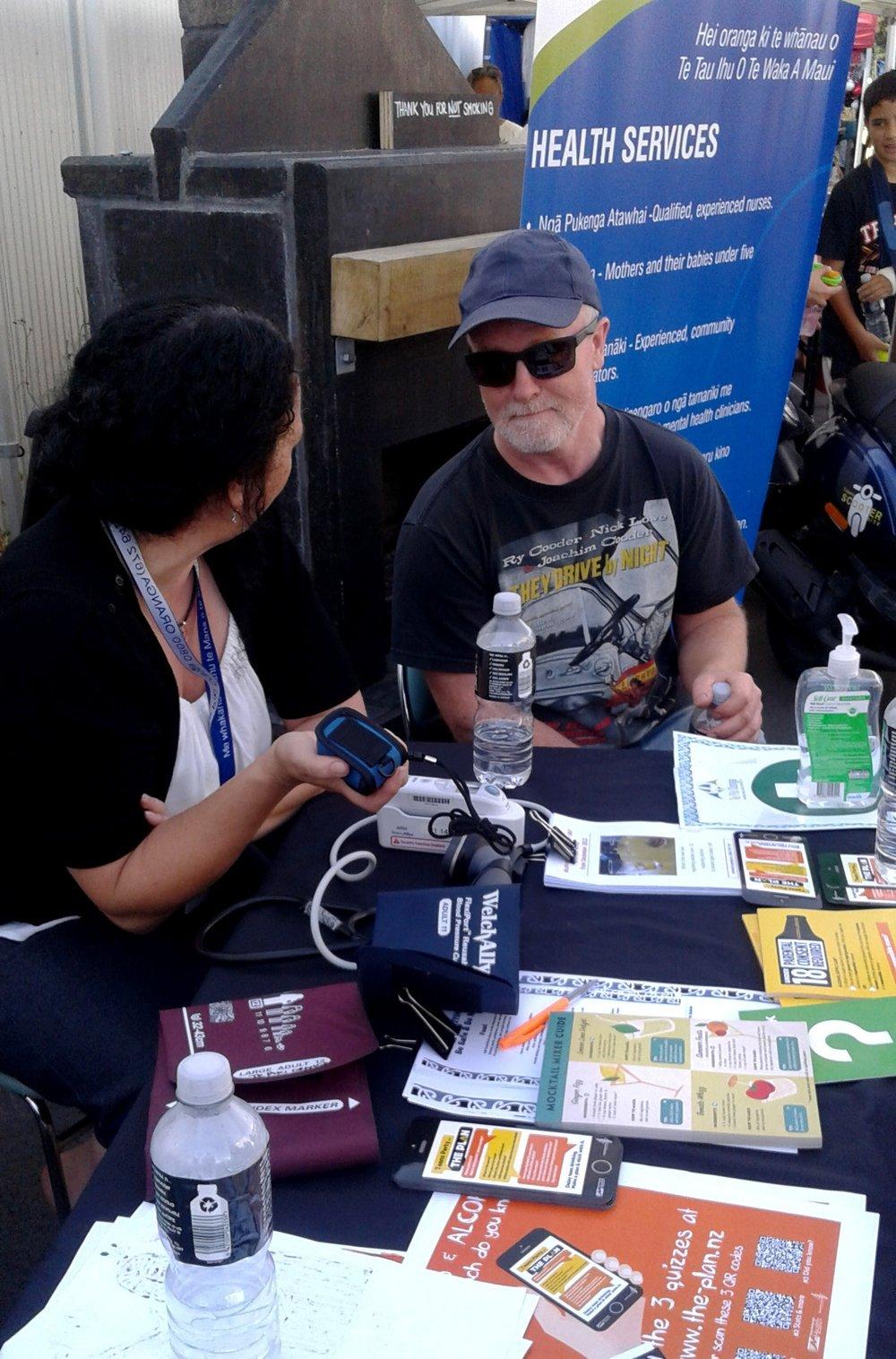 Derek Walker gets a TPO health check from Marissa