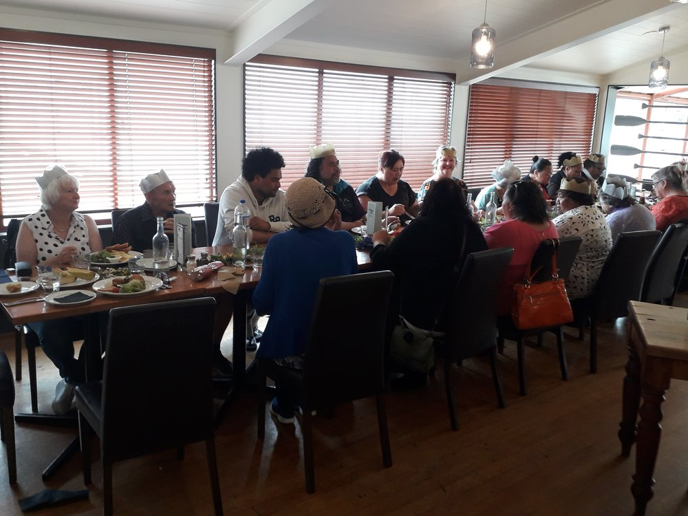 Kaumātua lunch at Anchor Bar & Grill Restaurant