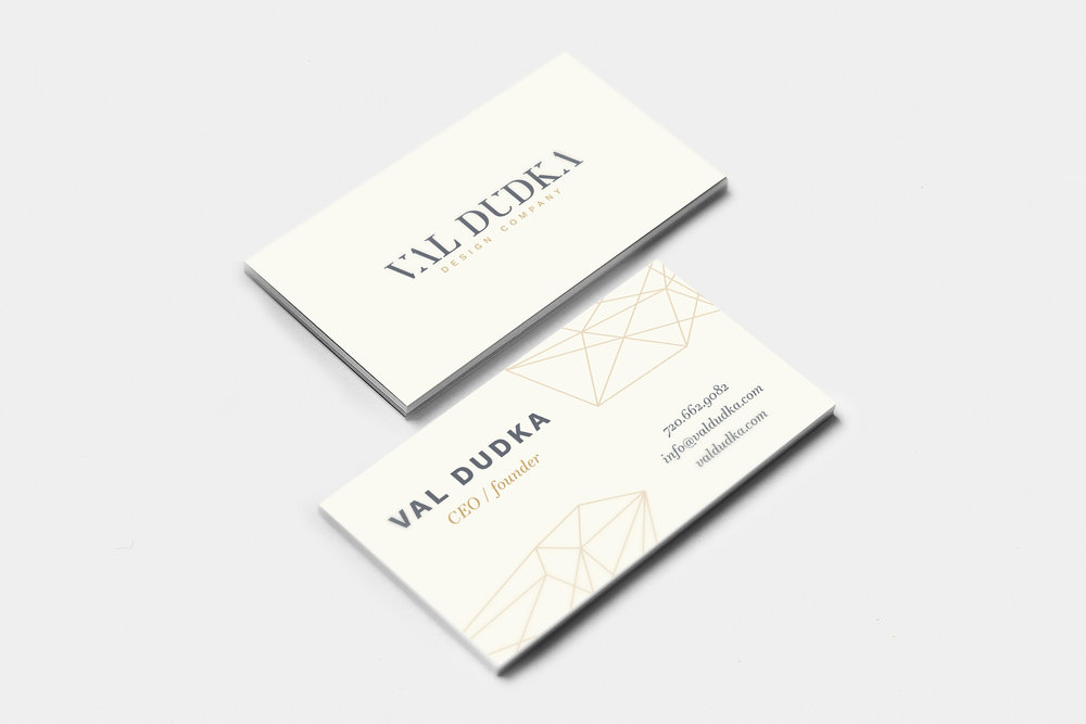 Business Card Graphic Designer Denver Colorado