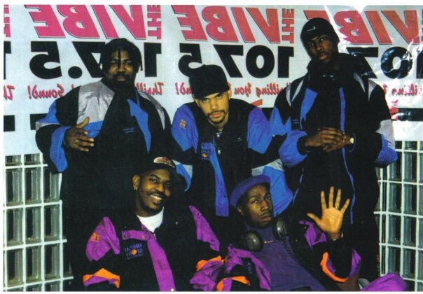 Assistant production director by day protege of Grandmaster Flash by night. My days at WBLS and Team Flash. (Top left:Kev Dawg, Milkman, T-Storm, bottom left: Hollywood, Grandmaster Flash)