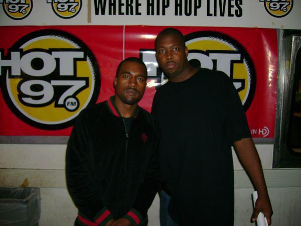 Kanye at Hot 97