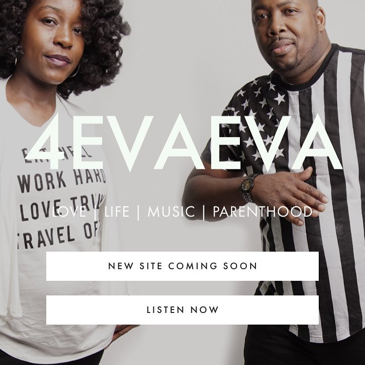 New logo new look. New podcast episode up now… Check it out now on 4evaeva.com