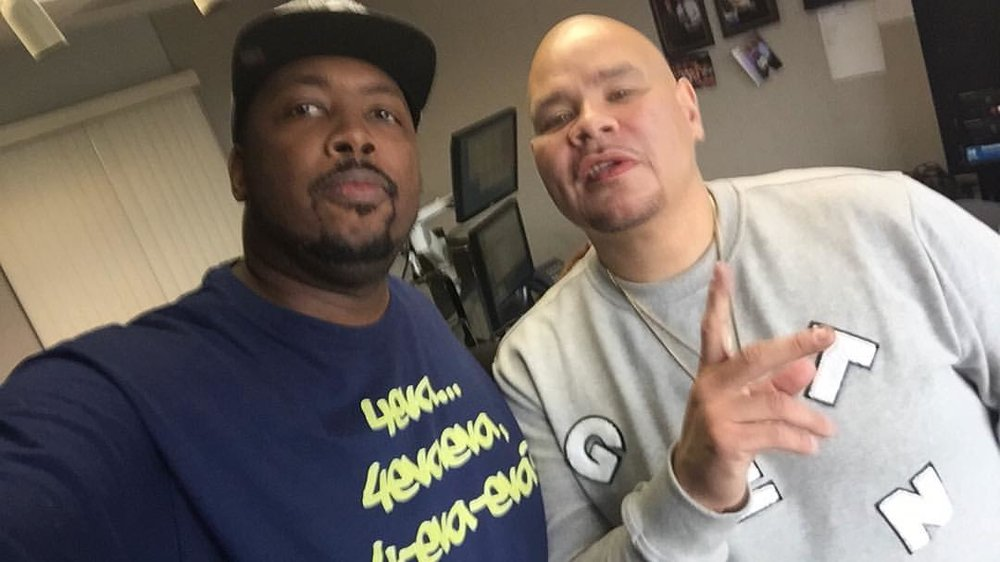 #JoeyCrack #FatJoe came thru my studio #chicitymycity