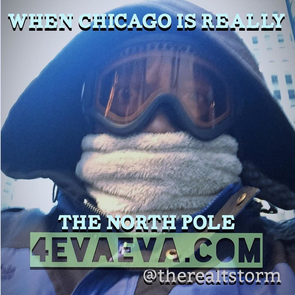 The winters in Chicago are on some next level Ish!!!!! #wedowhatwemust #bish #itsCold!!! #tryingnottocurse #4evaeva