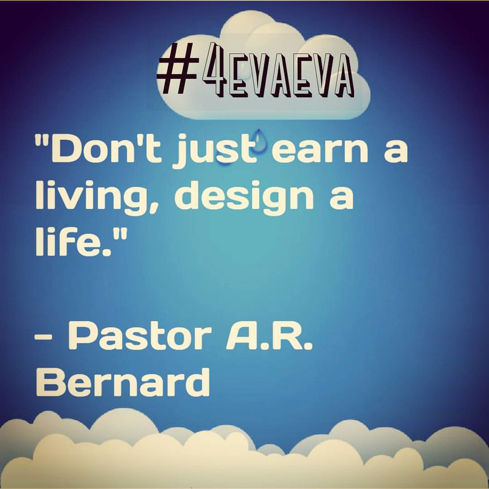Good Monday morning! Food for thought. #4evaeva