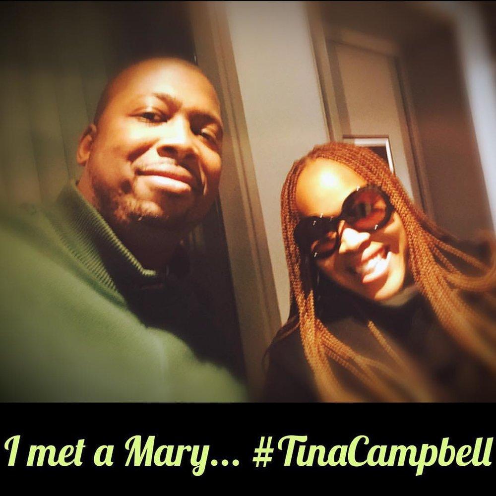 One of my favorite groups and one of my wife's ( @kaygissellebattle) favorite people, 1 half of MaryMary #iamtinacampbell @teddyandtina @therealmarymary #4evaeva 4evaeva.com