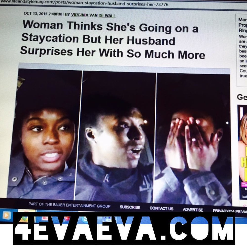 When acts of real love make the news! This is pretty awesome. I genuinely just wanted to make my wife happy! This turns out to be even better than I planned. #happybdayKGB #4evaeva #operationNolaSurprise #NOLA #teambattle
