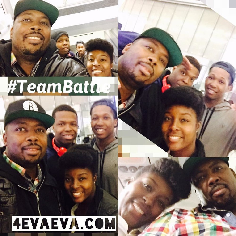 We pulled off the biggest caper yet! Thanks to all who kept the secret. Details and footage coming soon on 4evaeva.com #4evaeva #teambattle #operationNolaSurprise