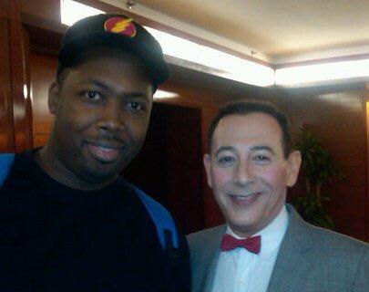 Pee Wee Herman in NYC