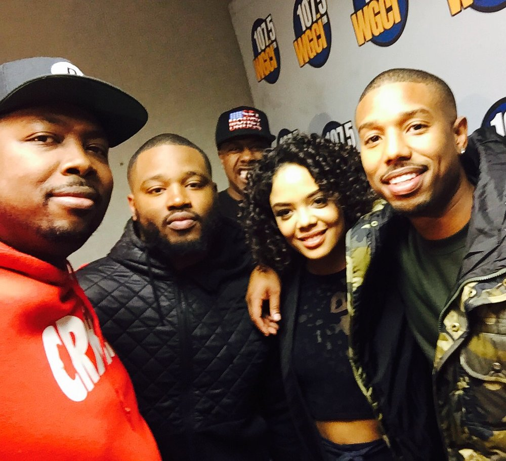 The cast and director of Creed