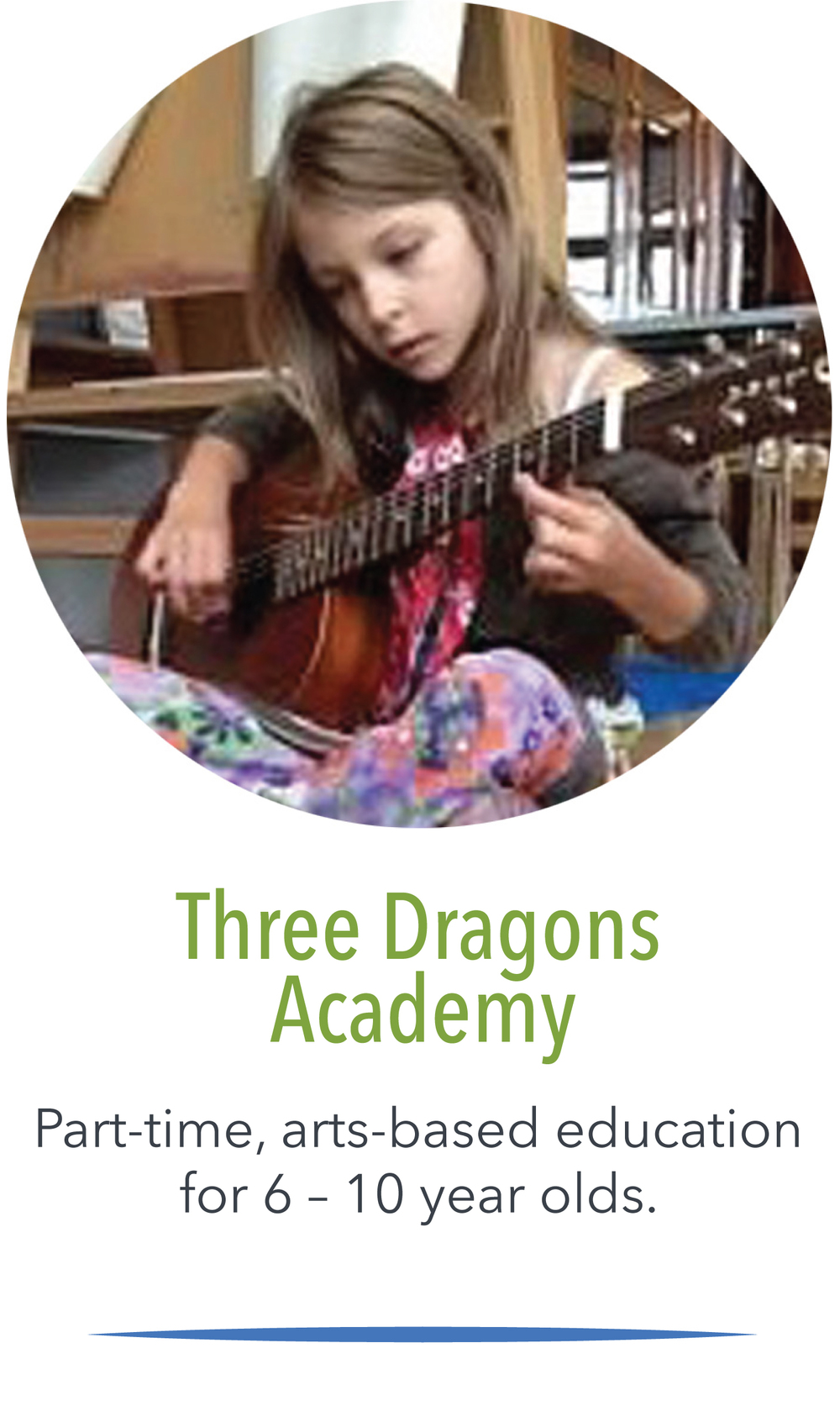 Click here to learn more about Three Dragons Academy.