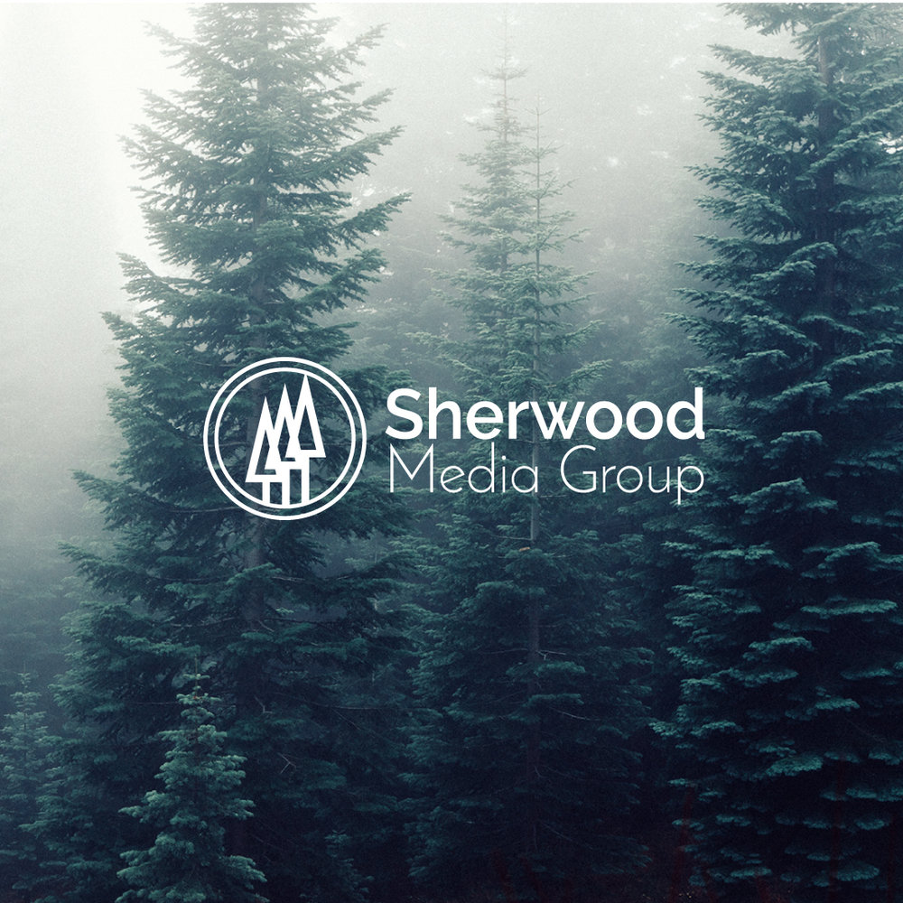 Sherwood Media Group - Logo design.