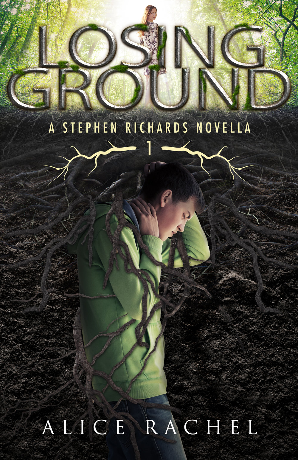 Book Cover for Losing Ground by author Alice Rachel
