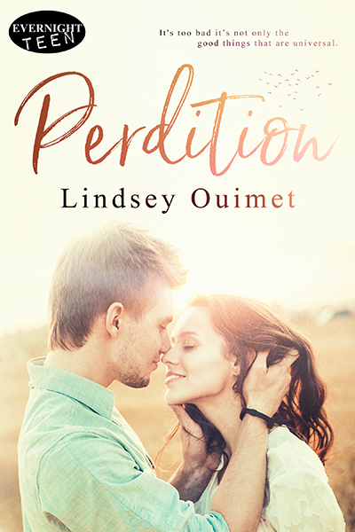 Perdition by author Lindsey Ouimet Book Cover