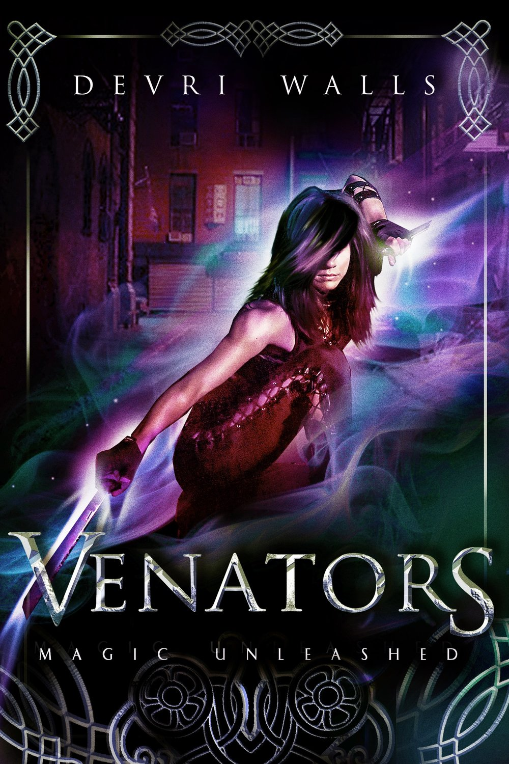 Venators Book Cover - by Author Devri Walls