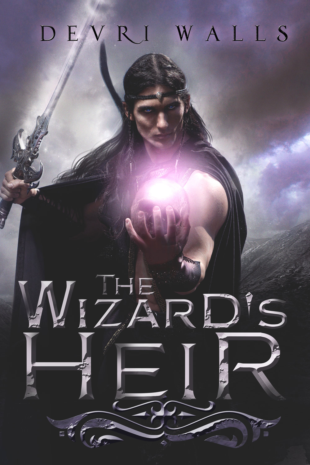 The Wizards Heir Book Cover