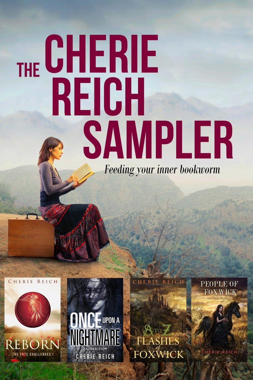Author Cherie Reich Sampler