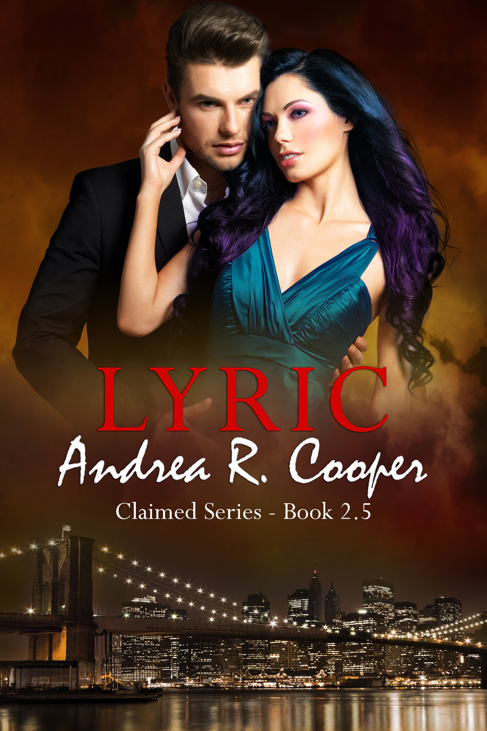 Lyric Book Cover - Author Andrea R. Cooper