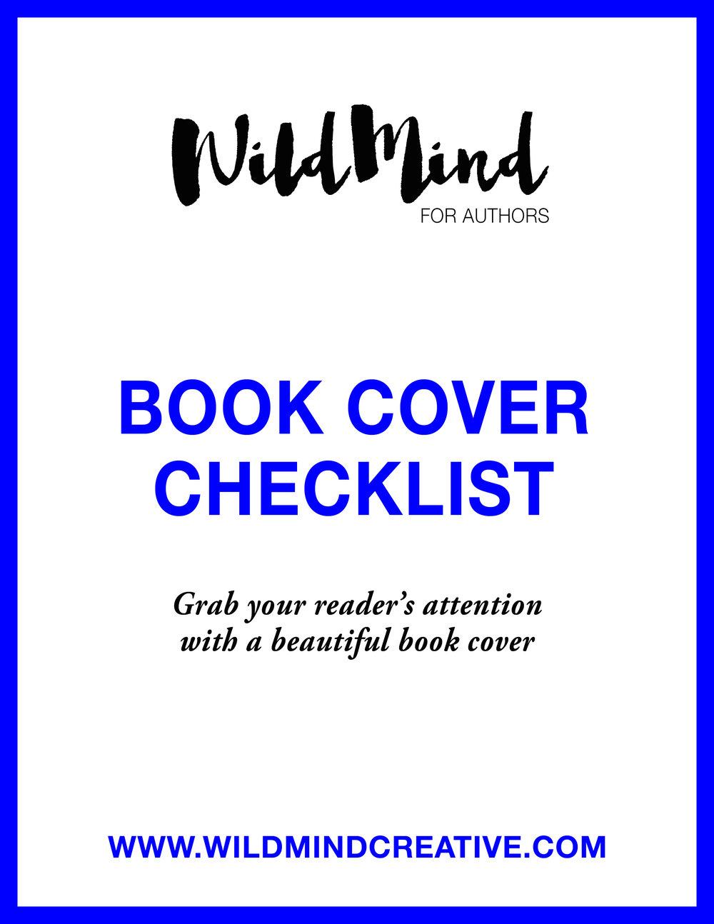 Book Cover Checklist