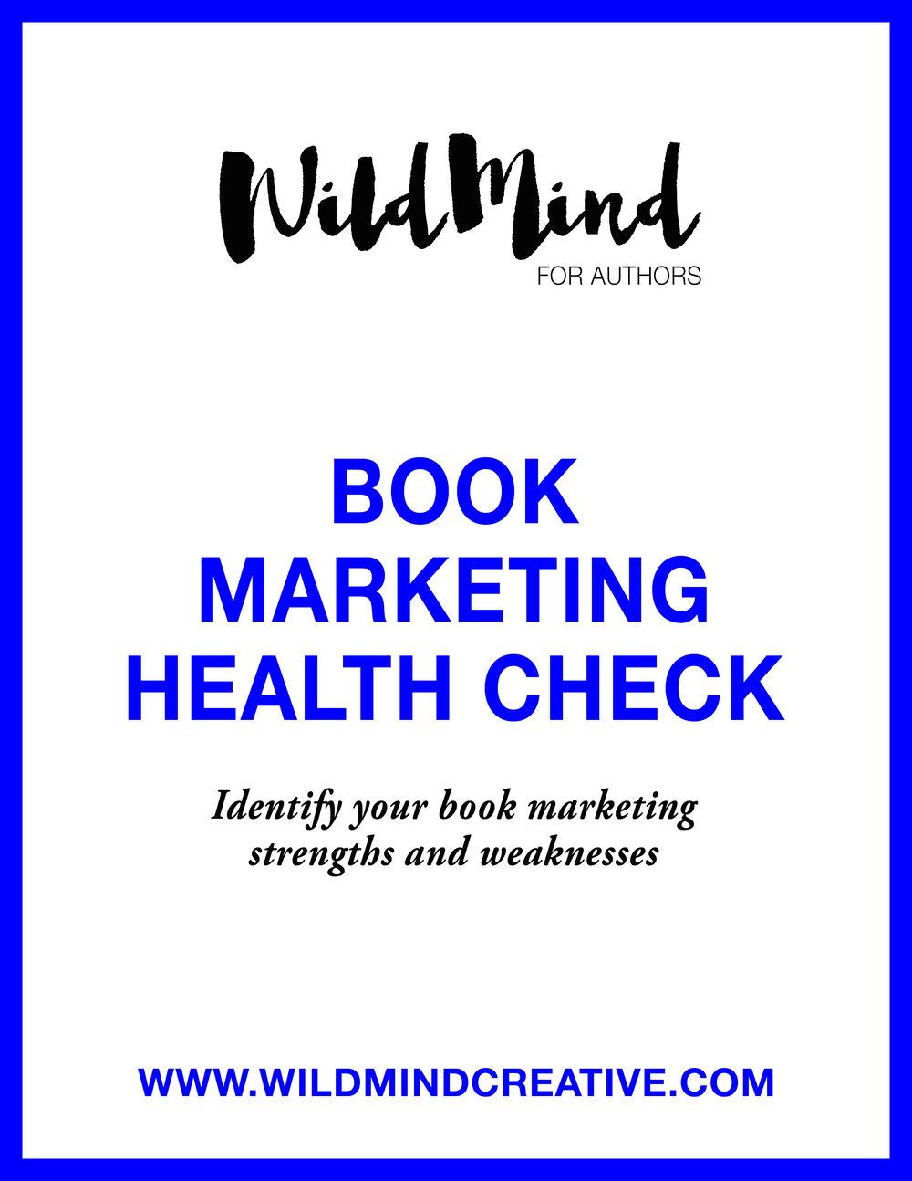 Book Marketing Health Check