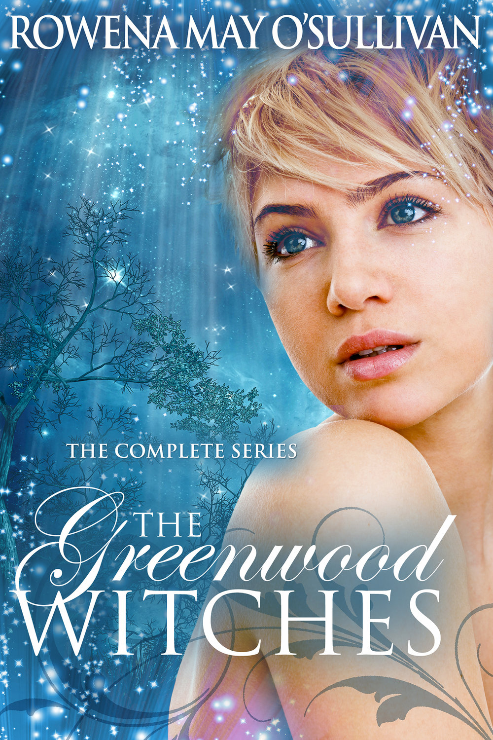 Greenwood Witches Trilogy - author Rowen May O'Sullivan