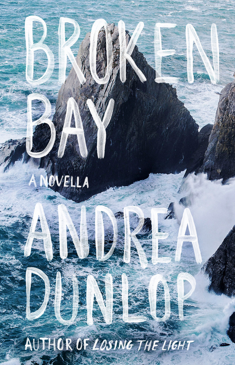 Broken Bay Book Cover by Author Andrea Dunlop