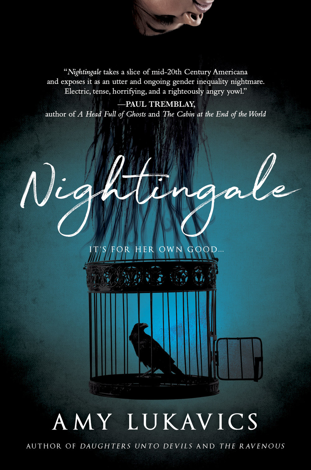 Nightingale book cover by author Amy Lukavics
