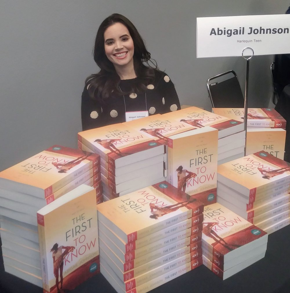 Author Abigail Johnson