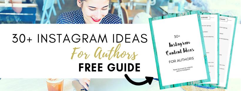 Instagram Content Ideas for Authors