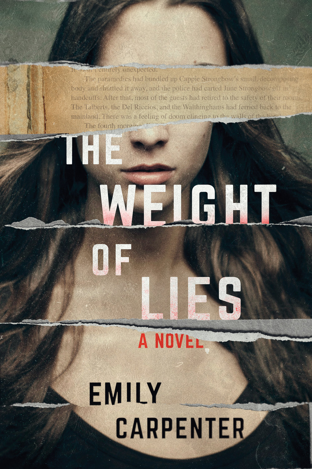 The Weight of Lies by Author Emily Carpenter