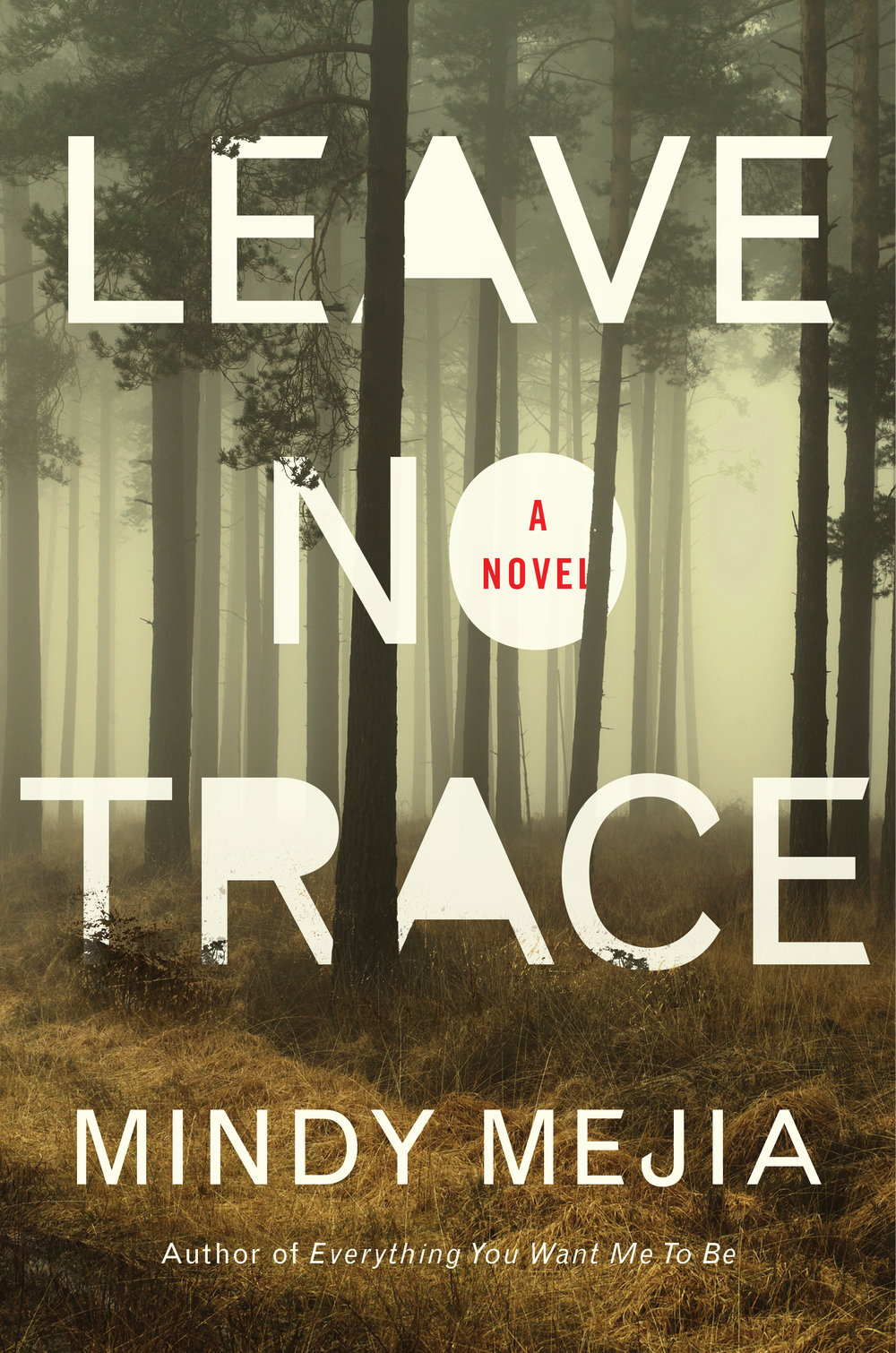 Leave No Trace by Thriller Author Mindy Mejia