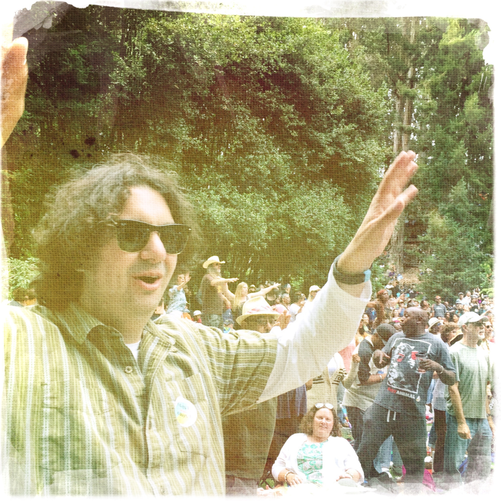 Grooving at Stern Grove Music Festival