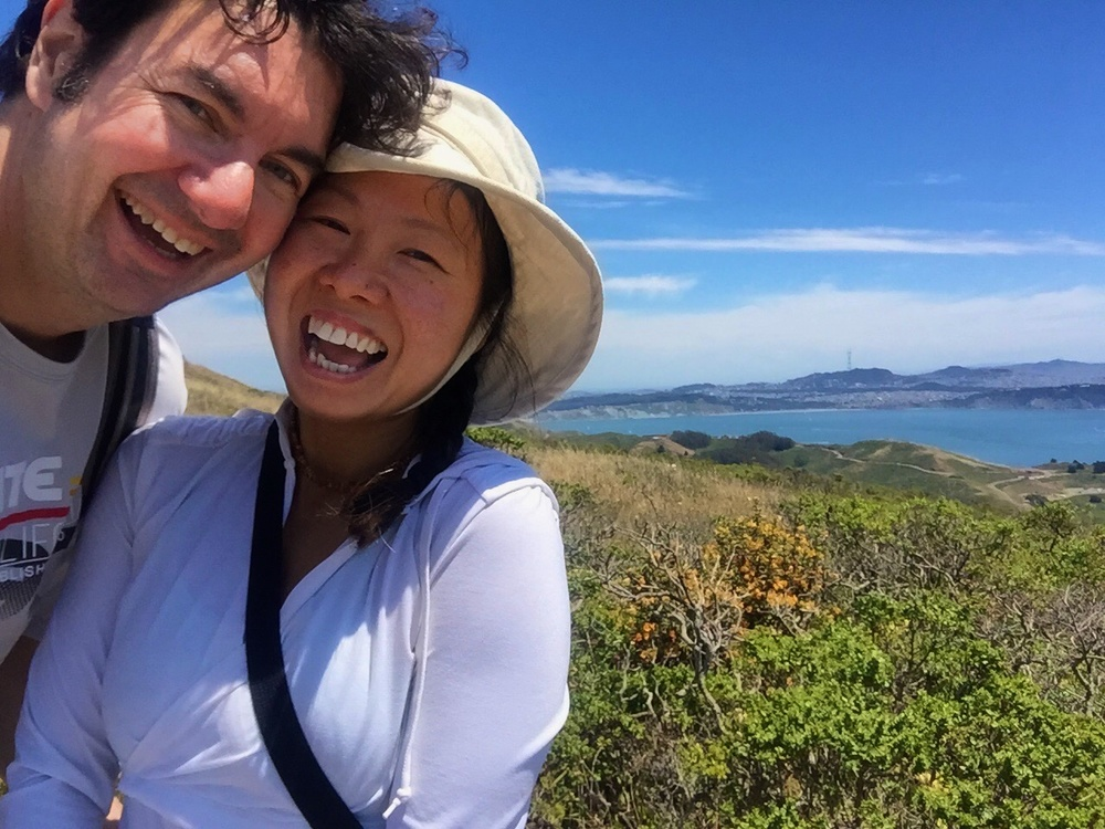 Hiking in the Marin headlands