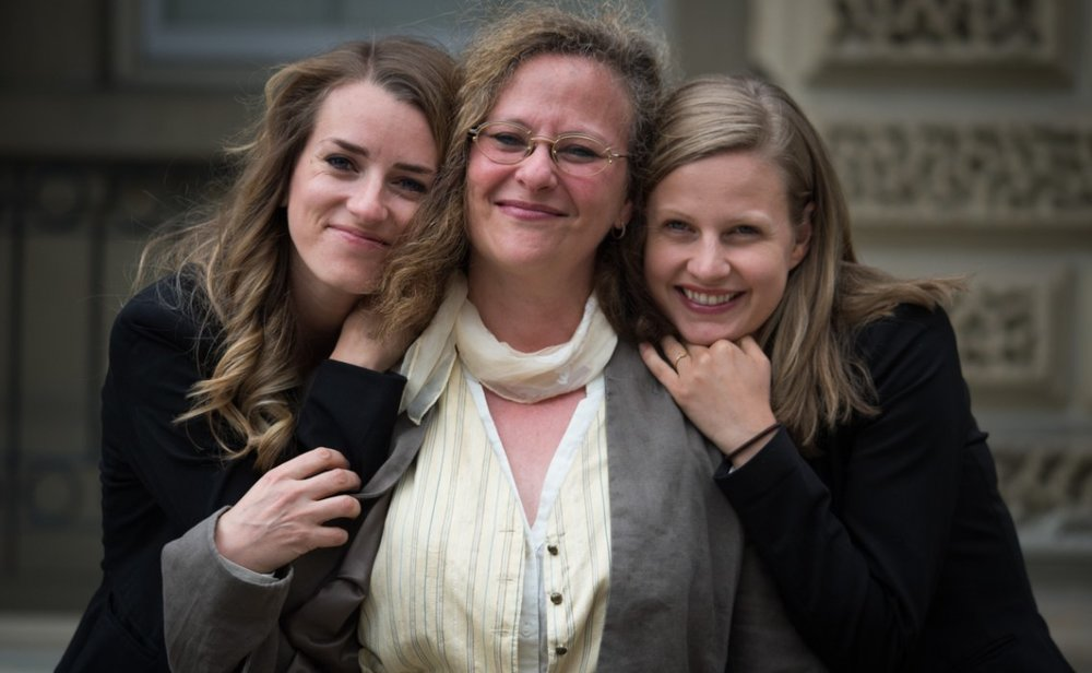 Photo: Jo-Anne McArthur /  Unbound Project.  Pictured: Camille Labchuk, Lesli Bisgould, Anna Pippus