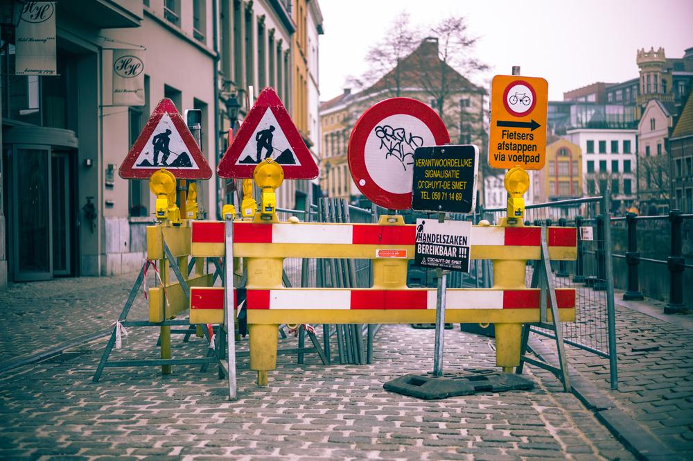 Roadsigns in Dutch