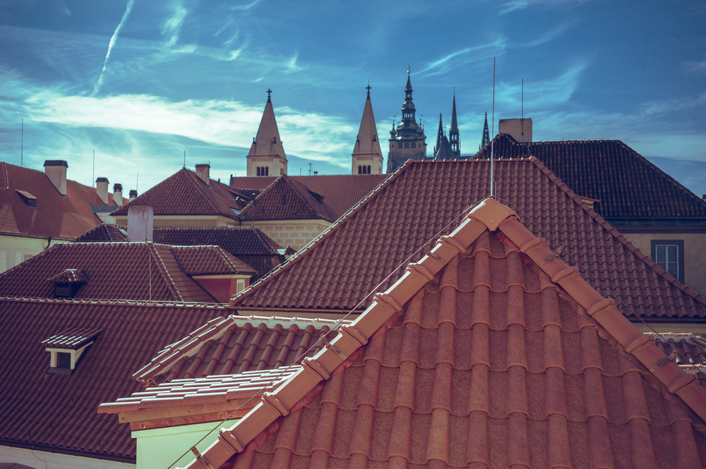 Rooftops of Prague Castle