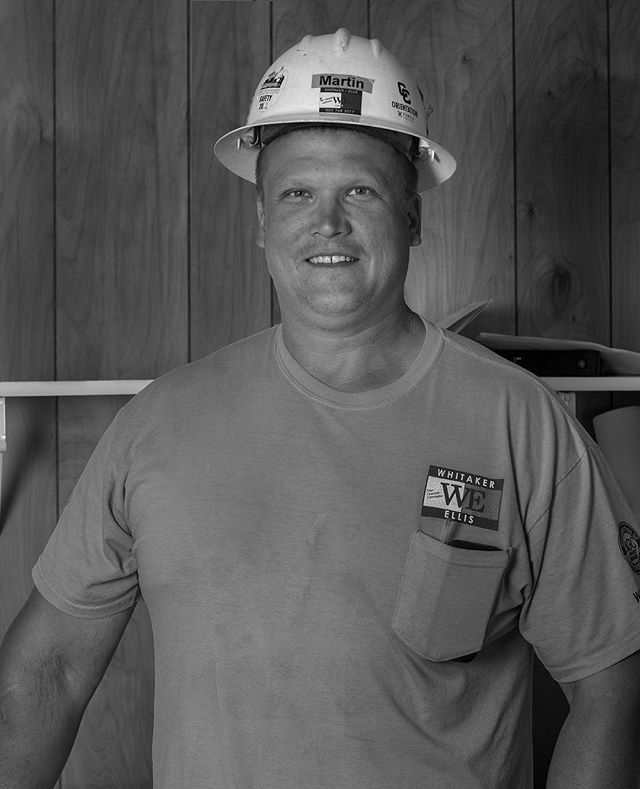 """Testimonial Tuesday  Meet Martin Nairis! •How long have you been with Whitaker Ellis? """"I have been with the company since September of 2002."""" •What is your job title? How much experience did you have in construction prior to working for WE? """"I am a Superintendent and I had 10 years of experience in construction before I worked for WE."""" •What is your favorite thing about working for Whitaker Ellis? """"Working with others to come up with innovative ideas to complete projects."""" #whitakerellisbuilders #wepourpdx #testimonialtuesday #WEarehiring #localbusiness #engineering #industry #pdx"""