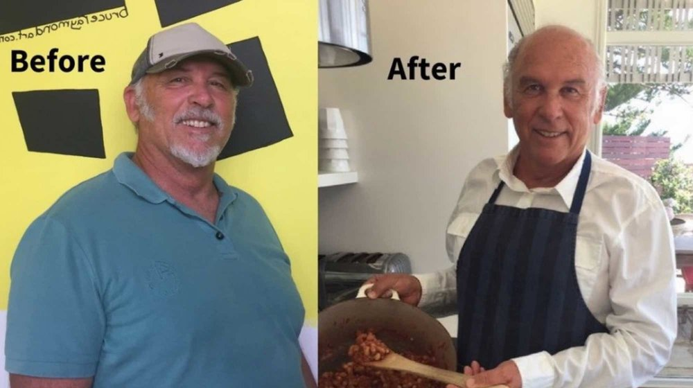 Bruce Raymond - Retired Boss Quicksilver International I Feel Good Program Before and After.jpg