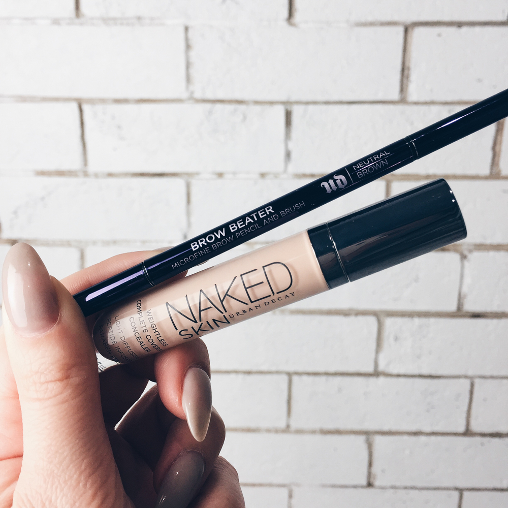 URBAN DECAY BROW BEATER AU$36  URBAN DECAY NAKED SKIN CONCEALER AU$46