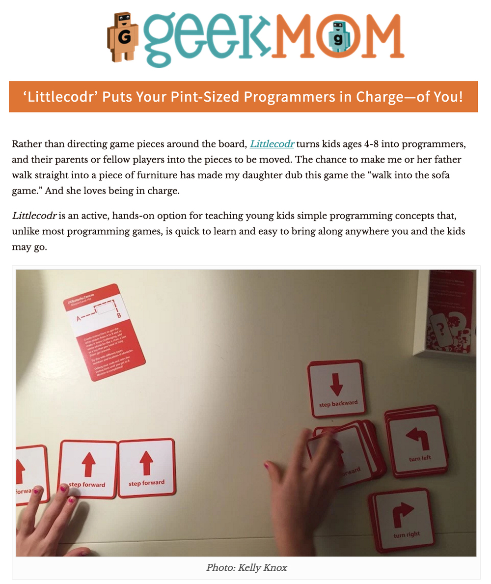 GeekMom Review of Littlecodr