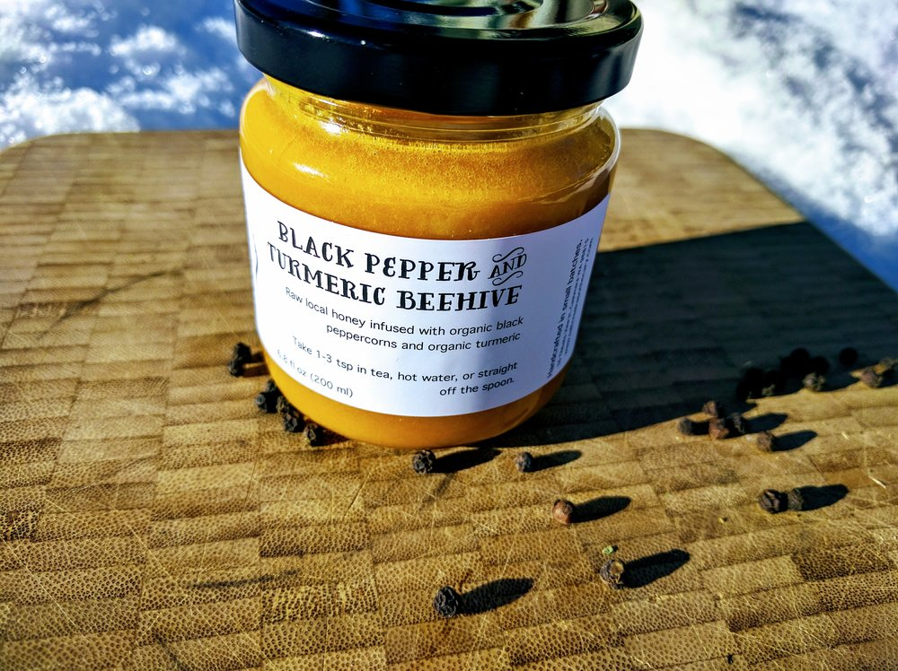 Black Pepper & Turmeric Beehive