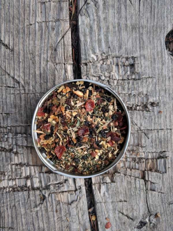 Salt Creek Elderberry Tisane