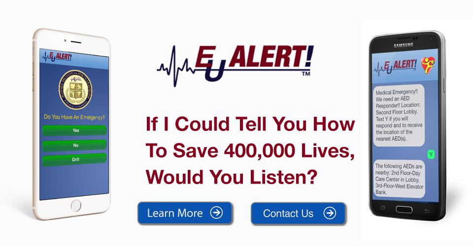 EU Alert Smartphone Application Website banner