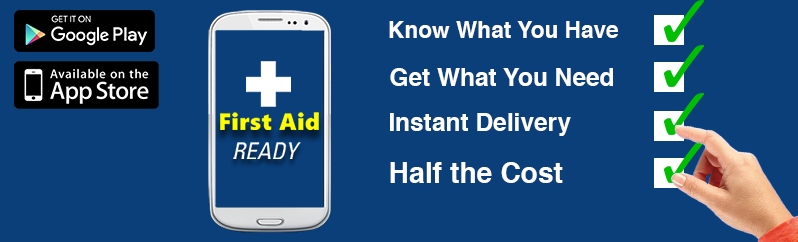 First Aid Ready Smartphone Application Website Banner