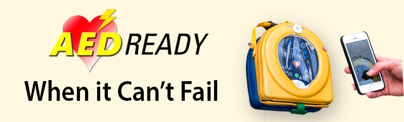 AED Ready Smartphone Application Website Banner