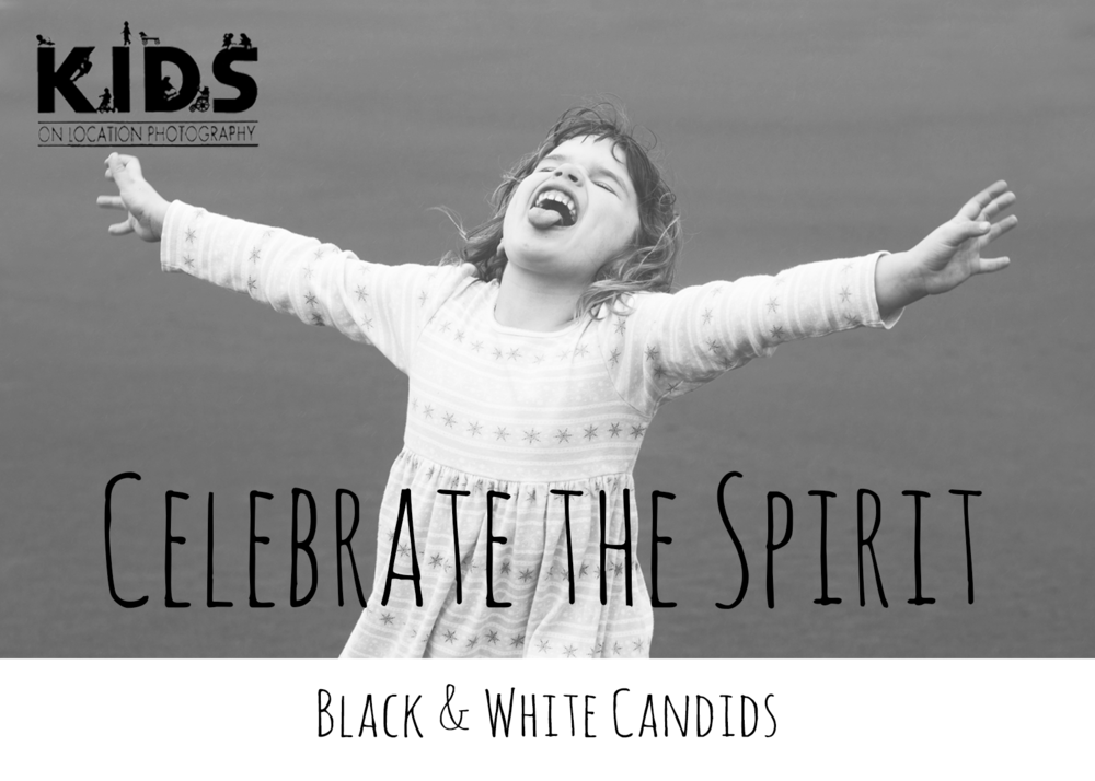 Black&White Candids Brochure